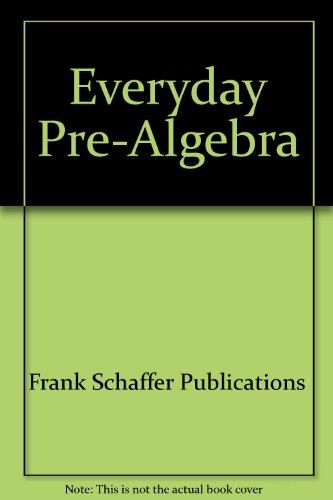 9780764701535: Pre-Algebra for Everyday
