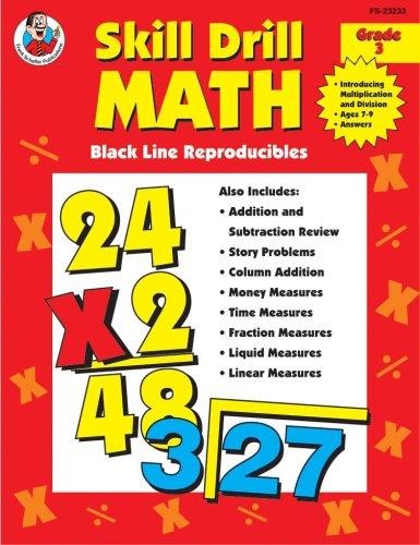 9780764703874: Skill Drill Math: Multiplication & Division, Grade 3