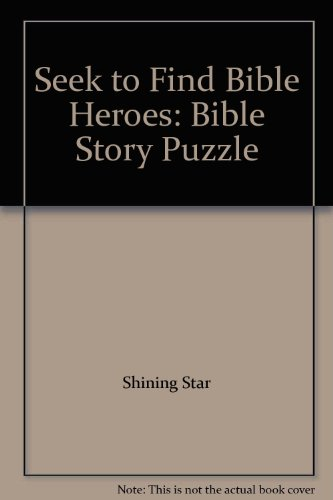 Seek to Find Bible Heroes: Bible Story Puzzle