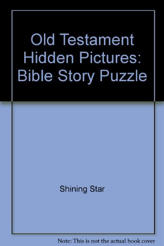 9780764704338: Old Testament Hidden Pictures: Bible Story Puzzle
