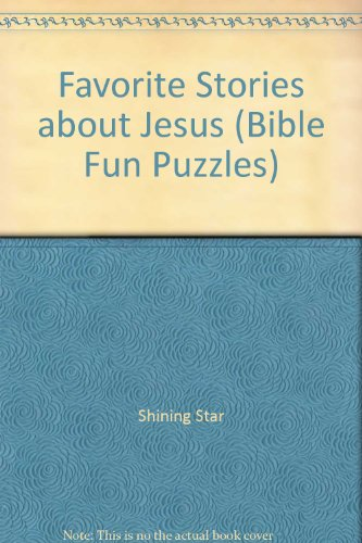 9780764705304: Favorite Stories about Jesus (Bible Fun Puzzles)