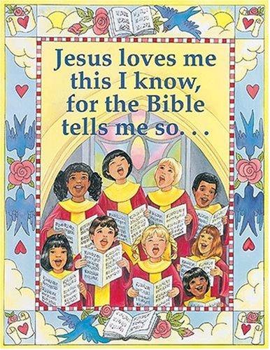 9780764708589: Jesus Loves Me Large Poster