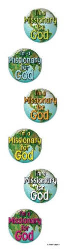 9780764709692: Missionary for God Shape Stickers