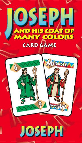 9780764710063: Joseph and His Coat of Many Colors: Card Game (Bible Card Games)