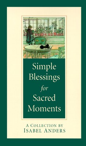 9780764802218: Simple Blessings for Sacred Moments
