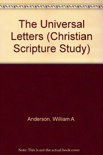 9780764802454: The Universal Letters (Christian Scripture Study)