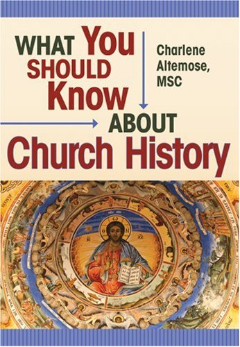9780764808180: What You Should Know About Church History (What You Should Know About... Series)