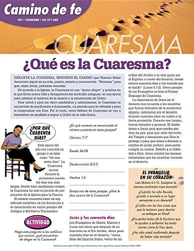 9780764816918: Camino de fe Cuaresma (Spanish Edition)