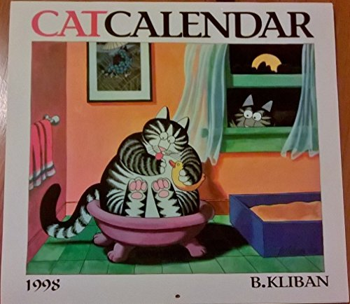 "CATCALENDAR 1998 (cat calendar): KLIBAN,B.""Hap"""