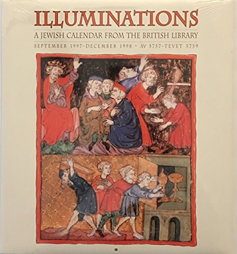 9780764901690: Cal 98 Illuminations: A Jewish Calendar from the British Library