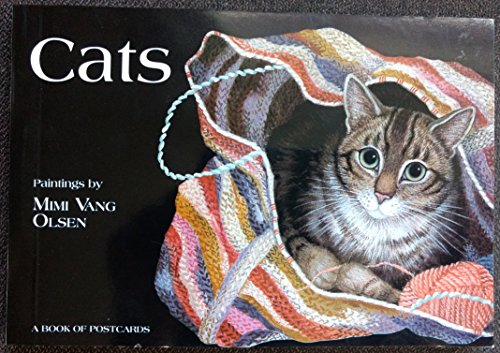 9780764903670: Cats: Paintings by Mimi Vang Olsen (Postcard Books)