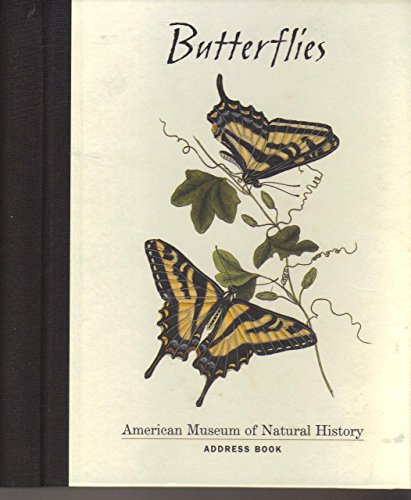 9780764904448: Butterflies: American Museum of Natural History Address Book