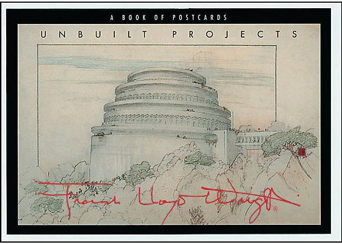 9780764904615: Frank Lloyd Wright Unbuilt: Postcard Book
