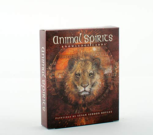 9780764911170: Animal Spirits Knowledge Cards™: Paintings by Susan Seddon Boulet