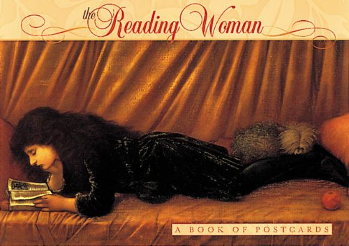 9780764912672: The Reading Woman: A Book of Postcards