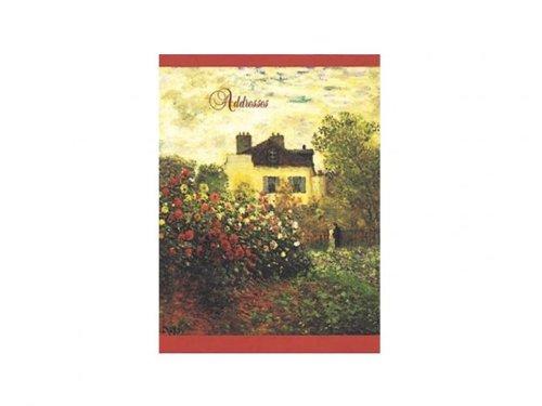 Claude Monet Argenteuil Pocket Address Book