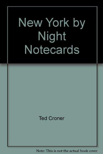 9780764917226: New York by Night Notecards
