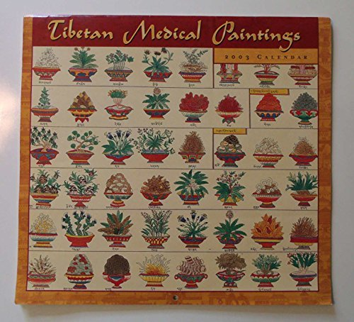 9780764919190: Tibetan Medical Paintings 2003 Calendar
