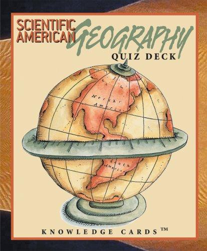 9780764920325: Geography Quiz Deck: Scientific American Knowledge Cards Deck