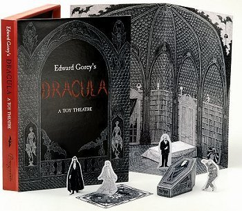 9780764921360: Edward Gorey's Dracula: A Toy Theatre: Die Cut, Scored and Perforated Foldups and Foldouts