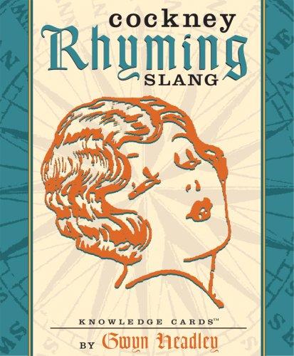 9780764921384: Cockney Rhyming Slang Knowledge Cards Deck