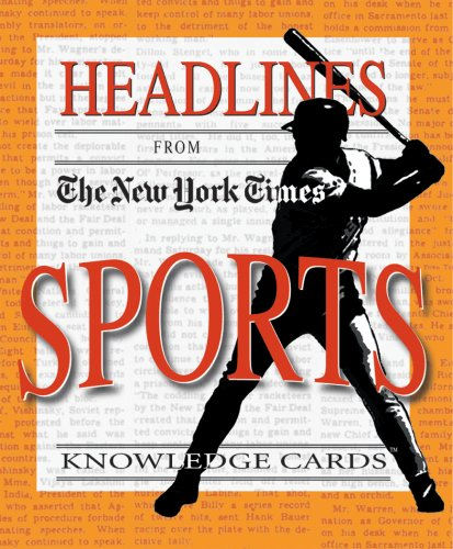 9780764921407: Headlines from The New York Times: Sports Knowledge Cards Deck