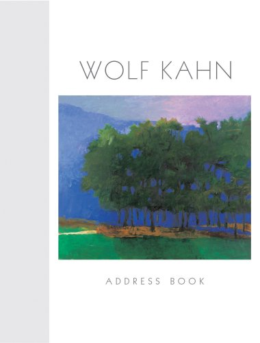 9780764924682: Wolf Kahn: Address Book