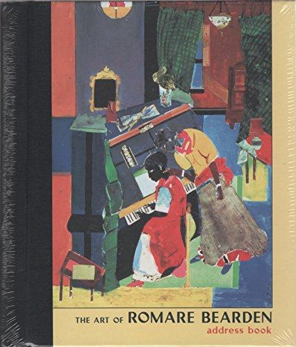 9780764924811: Art of Romare Bearden Deluxe Address Book