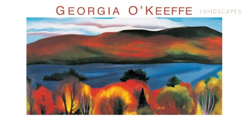 9780764925184: Georgia O'Keeffe Panoramic Boxed Note Cards: Landscapes