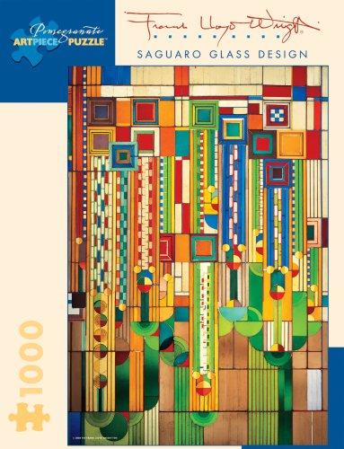 9780764929083: Frank Lloyd Wright Saguaro Glass: 1,000 Pieces