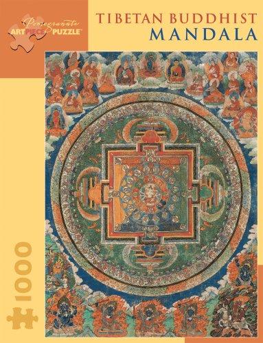 9780764929113: Tibetan Buddhist Mandala (Pomegranate Artpiece Puzzle)