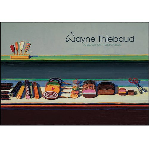 9780764932137: Wayne Thiebaud: A Book of Postcards