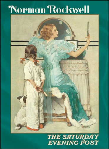 9780764933899: Norman Rockwell: The Saturday Evening Post Notecards [With Envelope]