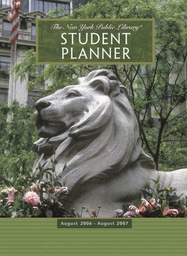 9780764934179: The New York Public Library Student Planner: August 2006–August 2007