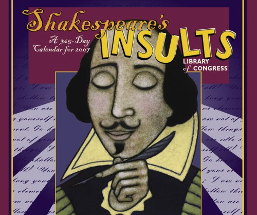 9780764934254: Shakespeares Insults Desk Calendar 2007