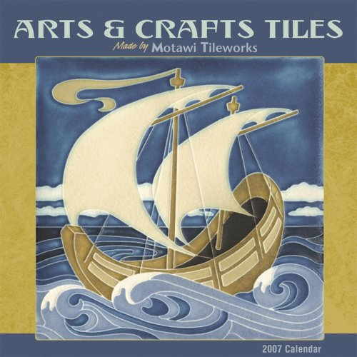 9780764936289: Arts & Crafts Tiles 2007 Mini Wall Calendar