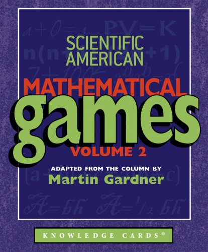 9780764936883: Scientific American Mathematical Games Knowledge Cards, Volume 2