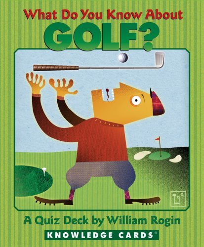 9780764937170: What Do You Know About Golf? Knowledge Cards Deck