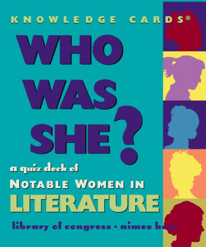 9780764937279: Who Was She? Notable Women in Literature Knowledge Cards Deck