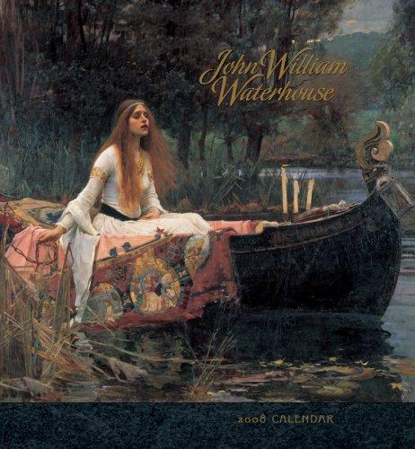 9780764938320: John William Waterhouse 2008 Calendar (Pomeganate Calendar)