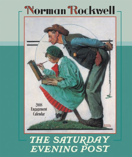 9780764939129: Norman Rockwell The Saturday Evening Post 2008 Calendar