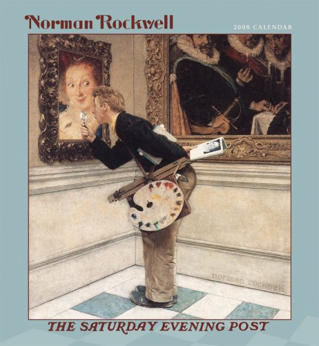 9780764939204: Norman Rockwell 2008 Calendar: The Saturday Evening Post