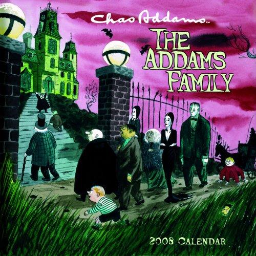 9780764939440: The Addams Family 2008 Calendar