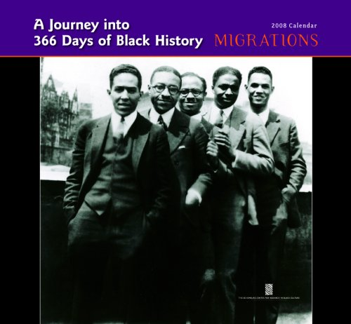 9780764940439: A Journey into 365 Days of Black History: Migrations 2008 Calendar