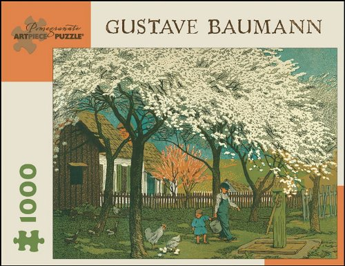 9780764940460: Gustave Baumann - Plum and Peach Bloom: 1,000 Piece Puzzle (Pomegranate Artpiece Puzzle)