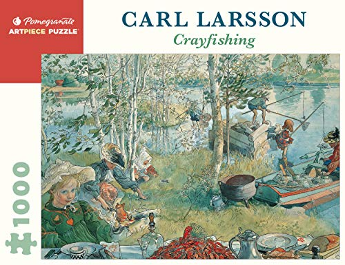 9780764941344: Carl Larsson: Crayfishing (Pomegranate Artpiece Puzzle)