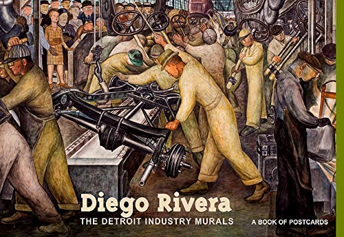 9780764942341: Diego Rivera the Detroit Industry Murals Book of Postcards Aa418