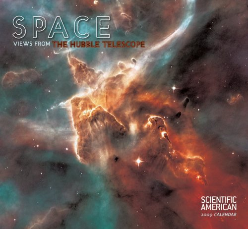Space Views from the Hubble Telescope 2009 Wall Calendar: Pomegranate