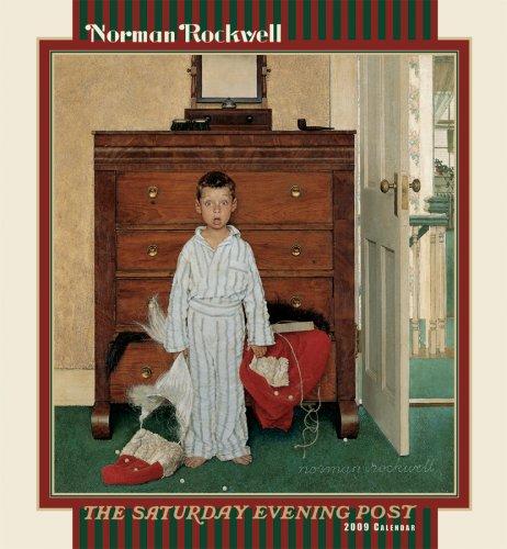 9780764942945: Norman Rockwell 2009 Wall Calendar