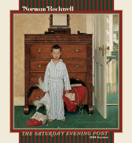 9780764942945: Norman Rockwell The Saturday Evening Post 2009 Calendar